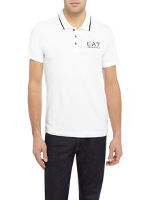 EA7 Train Core-ID Stretch Polo Shirt