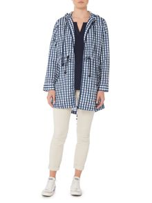 Dickins & Jones Isla Printed Gingham Pac A Mac
