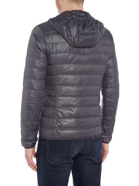 EA7 Train Core-ID Hooded Down Jacket