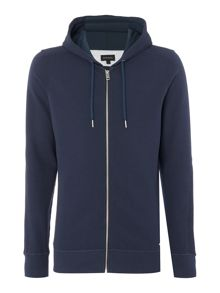 Diesel Thin stripe zip through hoody
