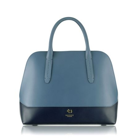 Radley Kennington block medium dome multi bag