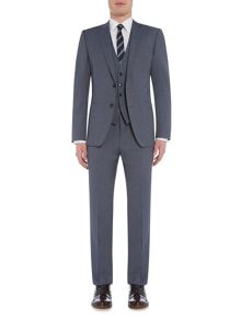 Hugo Boss Textured Notch Collar Slim Fit Suits