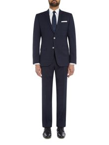 Hugo Boss Hutson Gander Slim Fit Textured Suit