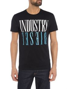 Diesel Industry crew neck t-shirt