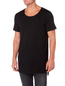 Diesel Longline be brave graphic t-shirt