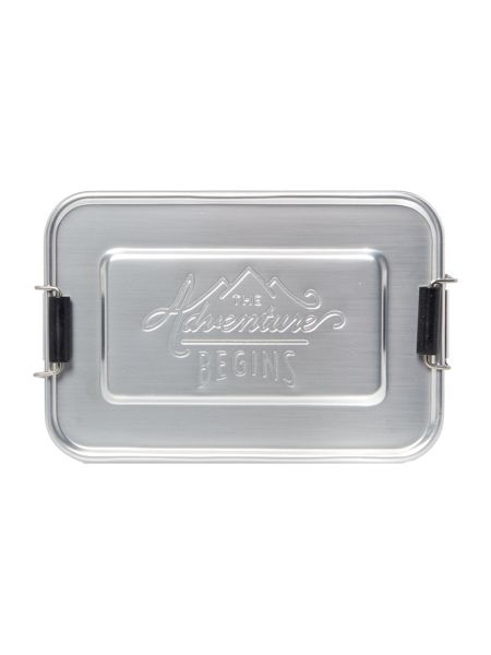 Gentlemen's Hardware Aluminium Lunch Tin Small