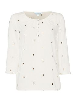 Layla Bee Embroidered Top