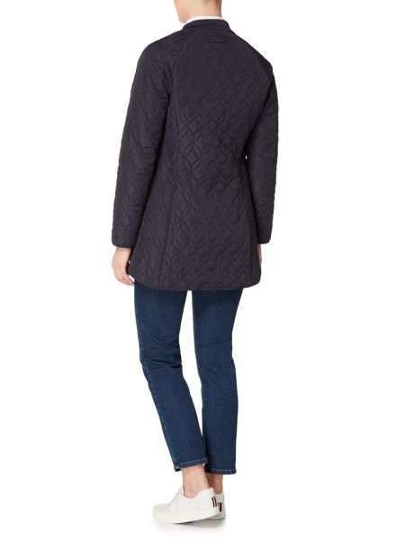 Gant Quilted knee length coat