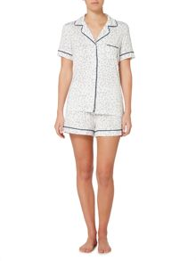 DKNY Short sleeve top and short pyjama set