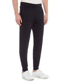 EA7 Cuffed-Hem Tracksuit Bottoms