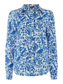 Gant Bloom print blouse