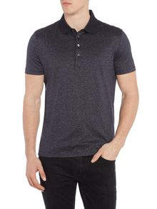 Hugo Boss Pitton 6 regular fit mercerised stripe polo shirt