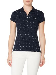 Gant Polka dot polo top