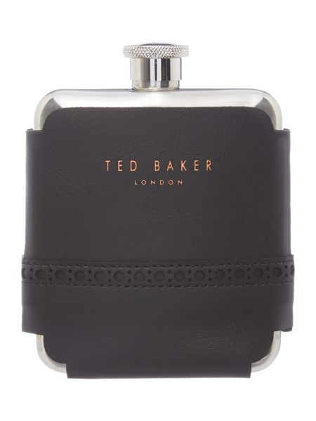 Ted Baker Brogue Hip Flask
