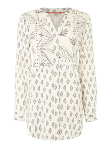 Dickins & Jones Mady Mix Print Top