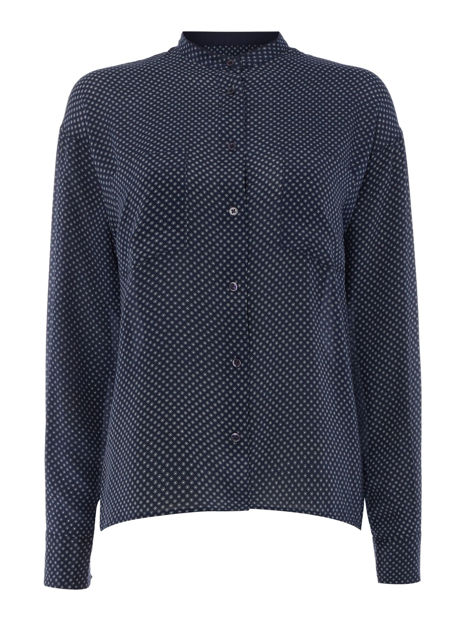 Gant Silk dot print blouse, Blue