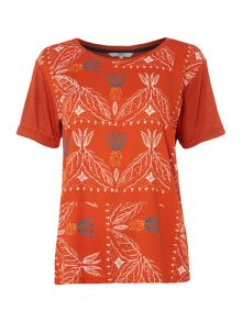 Dickins & Jones Bianca Bandana Print Tee