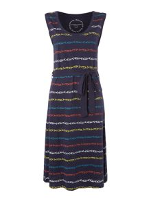 Dickins & Jones Sally Fish Stripe Dress