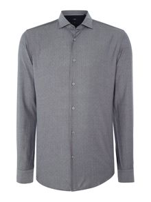 Hugo Boss Ridley 32F pin point oxford dobby shirt