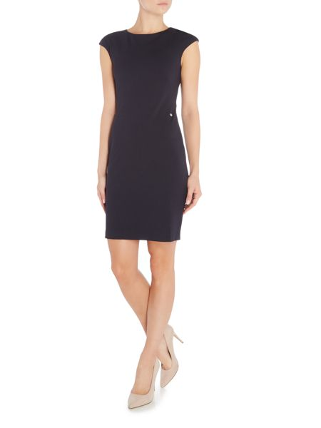 Armani Jeans Cap sleeve fitted dress