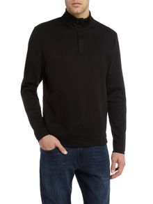 Hugo Boss Sidney 8 half zip sweat top