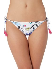 Seafolly Flower festival hipster bikini brief