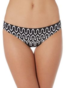 Seafolly Optic wave bikini hipster brief