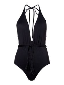Seafolly Deep V malliot swimsuit