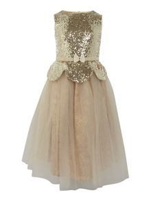 Disney The Boutique Collection Girls Sequin Belle Dress