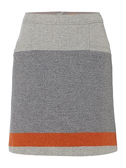 Bastra A line short skirt