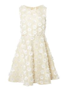Disney The Boutique Collection Girls Belle Flower Dress