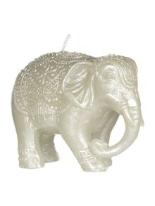 Junipa Small elephant unscented candle