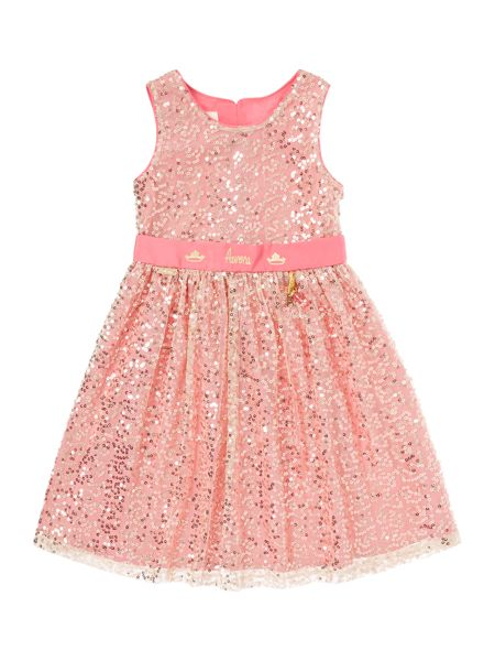 Disney The Boutique Collection Girls Aurora Sequin Dress