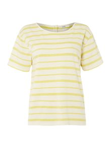 Dickins & Jones Bailey Button Back Tee