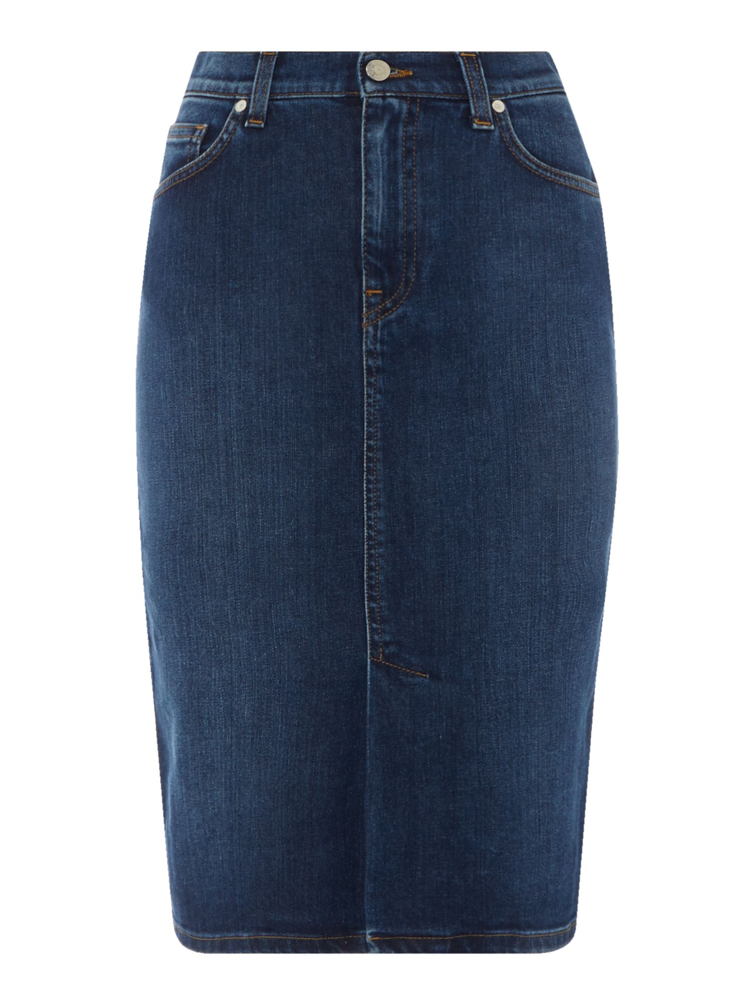 Gant Denim pencil skirt, Denim