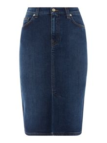 Gant Denim pencil skirt