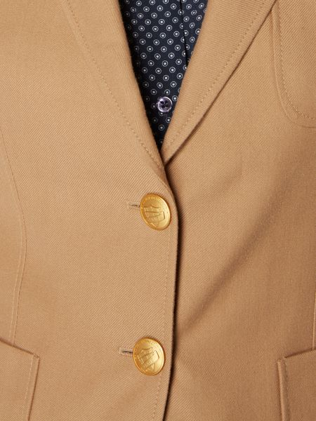 Gant Club blazer cotton wool