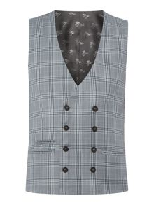Label Lab Syd skinny check suit waistcoat
