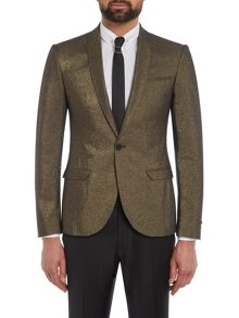 Label Lab Bonham Metalic skinny blazer