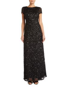Adrianna Papell Petite sequin gown