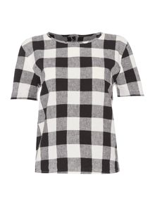 Maison De Nimes Dakota Picnic Check Top