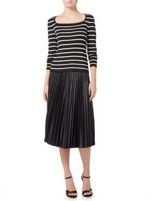 Lauren Ralph Lauren Colyn pleated skirt