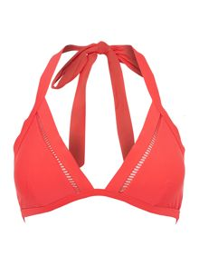 Ted Baker Pointelle triangle bikini top