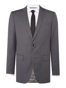 Hugo Boss Huge Genius Slim Fit Prince of Wales Checked Suit