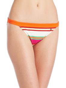 Ted Baker Pier stripe bikini brief