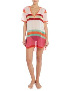 Ted Baker Pier stripe cover up