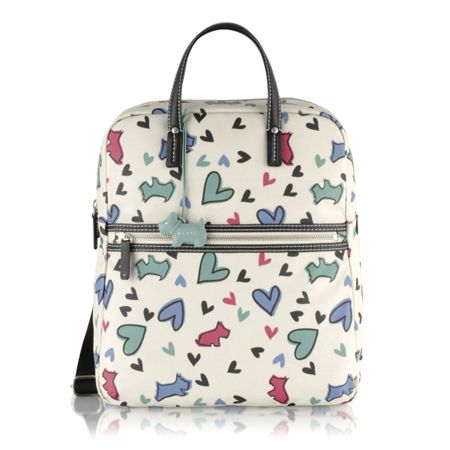 Radley Love me love my dog large backpack bag