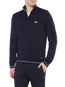 Hugo Boss Zime half zip neck jumper
