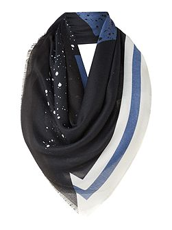 Large logo dot noah scarf