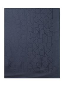 Calvin Klein All over logo jacquard square scarf